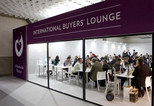 International buyers Lounge Vinitaly 2014