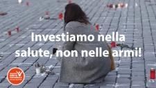 Sabato 10 aprile in piazza: investiamo nella salute non nelle armi!